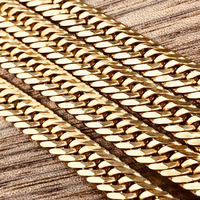 18金 喜平 ネックレス 8面トリプル 50.2g 50cm K18キヘイ メンズのアクセサリー(ネックレス)の商品写真