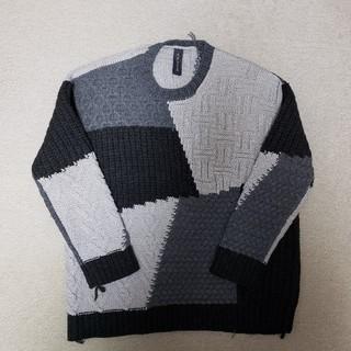 MIHARAYASUHIRO - 6万円ミハラヤスヒロローゲージニット46セーター