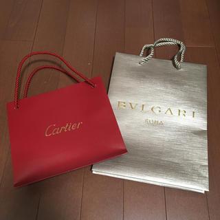 Cartier - カルティエ ブルガリ ショップ袋