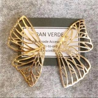 Ameri VINTAGE - 2点セット☺︎完売商品☺︎ 蝶々 バタフライ ピアス ゴールド