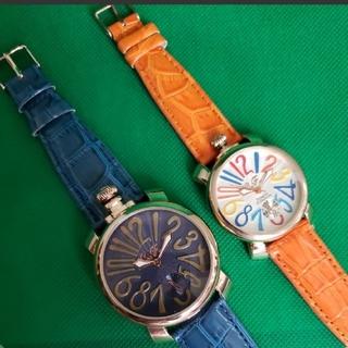 正規CLUBFACE腕時計 ビックフェイスカラフル腕時計豪華2本セット (腕時計(アナログ))
