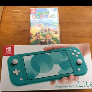 Nintendo Switch - スイッチライト+あつまれどうぶつの森