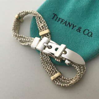 Tiffany & Co. - Tiffany ベルトモチーフのブレスレット 美品希少