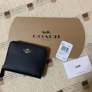COACH - コーチ⭐︎二つ折り財布⭐︎ブラック