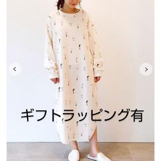 gelato pique - ジェラートピケ♡【PEANUTS】スヌーピードレス(ギフトラッピング有)