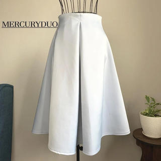 MERCURYDUO - 【未使用 タグ付き】マーキュリーデュオ サテンボンディングスカート