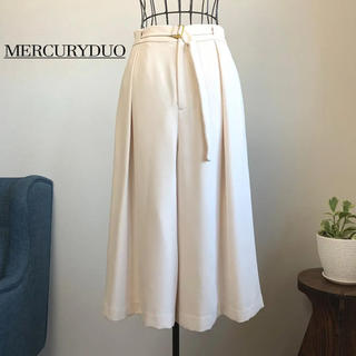 MERCURYDUO - 【美品】 MERCURYDUO マーキュリーデュオ ガウチョパンツ