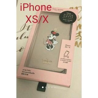 kate spade new york - ☆iPhoneケース ケイトスペード&ミニーマウスコラボ!iPhone XS/X