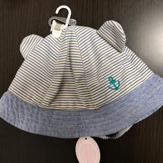motherways - マザウェイズ  耳つき 帽子