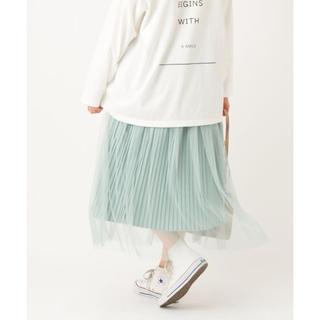 ナイスクラップ(NICE CLAUP)のチュールスカート(ロングスカート)