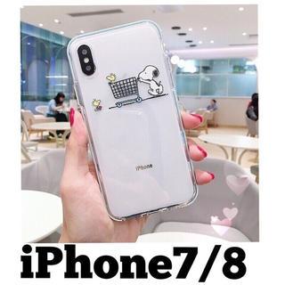SNOOPY - スヌーピー❤︎ウッドストック iPhone7 iPhone8 ケース カバー