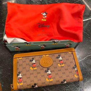 Gucci - 【新品未使用】グッチ x ミッキー コラボ 長財布