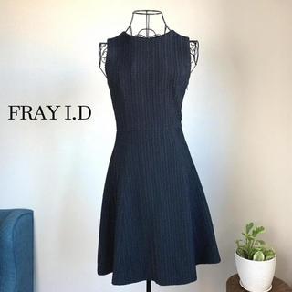 FRAY I.D - 【美品】 FRAY I.D フレイアイディー バックリボンワンピース