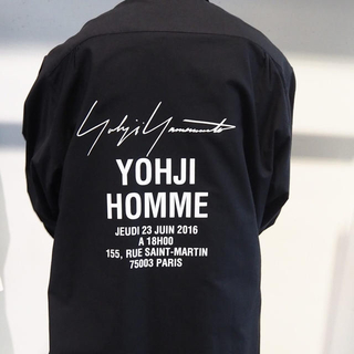 Yohji Yamamoto - ヨウジヤマモトのスタッフシャツ