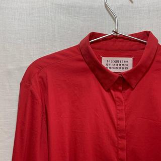 マルタンマルジェラ(Maison Martin Margiela)のMaison Martin Margiela shirt red(シャツ/ブラウス(長袖/七分))