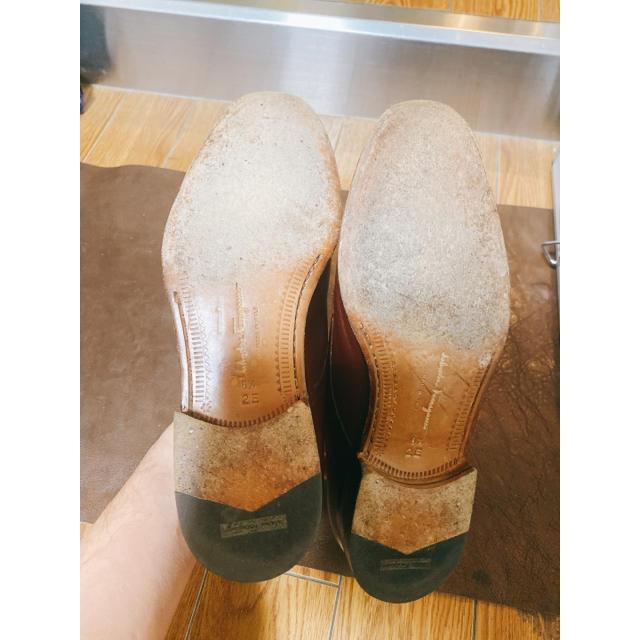 Salvatore Ferragamo(サルヴァトーレフェラガモ)の【美品】サルヴァトーレ フェラガモ【外羽根】 メンズの靴/シューズ(ドレス/ビジネス)の商品写真