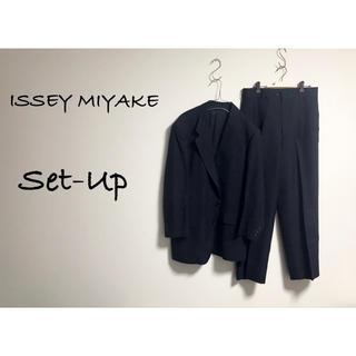 ISSEY MIYAKE - 古着 ISSEY MIYAKE im セットアップ ジャケット モード