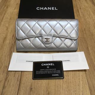 CHANEL - 正規品✩*新型 CHANEL シャネル マトラッセ 長財布