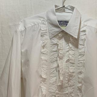 JOHN LAWRENCE SULLIVAN - vintage frilled shirt