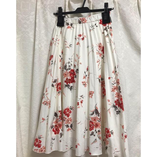 MERCURYDUO(マーキュリーデュオ)のMERCURYDUO♡カラフルフラワープリーツスカート レディースのスカート(ロングスカート)の商品写真