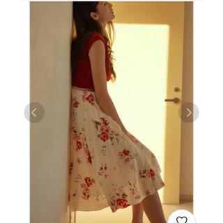 MERCURYDUO - MERCURYDUO♡カラフルフラワープリーツスカート