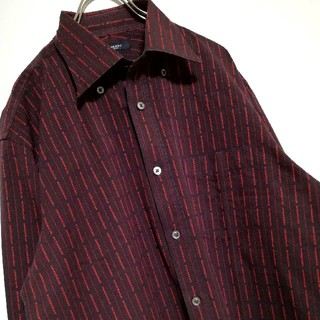 BURBERRY - 【美品】BURBERRYstripe sanyo made in Japan