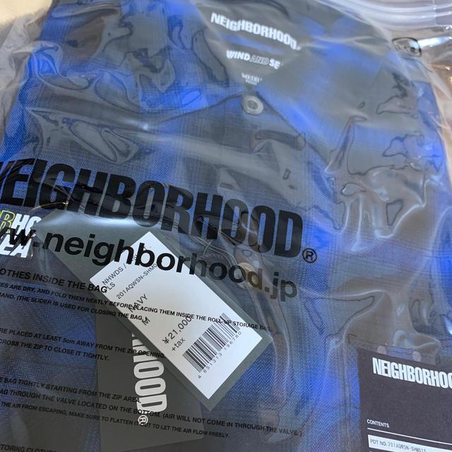 NEIGHBORHOOD(ネイバーフッド)のNEIGHBORHOOD WIND AND SEA NHWDS C-SHIRT メンズのトップス(シャツ)の商品写真