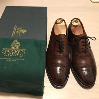 Crockett&Jones - クロケット&ジョーンズ  ポールスチュアート  UK 8E 26.5cm