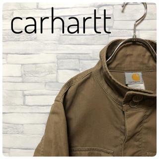 carhartt - carhartt メンズ ミリタリージャケット サイズS ブラウン