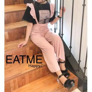 イートミー(EATME)の新品★ レースアップサロペット ★EATMEイートミー リズリサ メリージェニー(サロペット/オーバーオール)