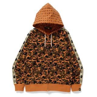 MCM -  mcm bape hoodie パーカー Lサイズ