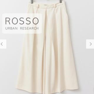 URBAN RESEARCH ROSSO - 【美品】URBAN RESERCH ROSSO とろみ素材 ワイドフレアパンツ
