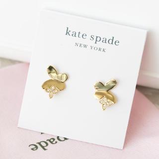 ケイトスペードニューヨーク(kate spade new york)の【新品¨̮♡︎】ケイトスペード バタフライ スタッズピアス(ピアス)