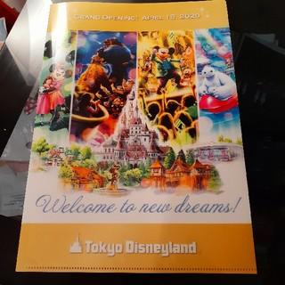Disney - ディズニーランド クリアファイル