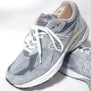 New Balance -  希少アメリカ製ビンテージ!ニューバランス990高級スニーカー灰銀