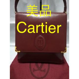 Cartier - 【美品】Cartier カルティエ マストライン ショルダーバッグ
