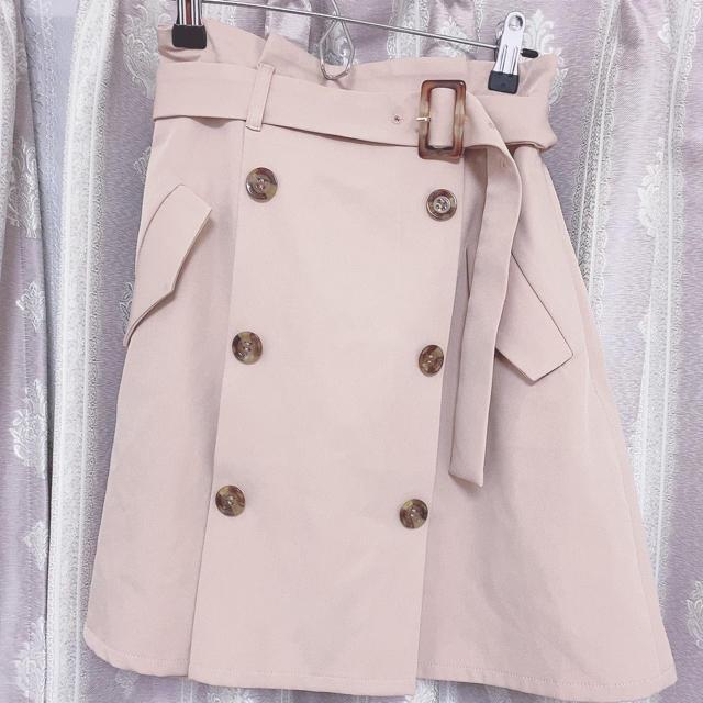 evelyn(エブリン)のアンミールトレンチスカート レディースのスカート(ミニスカート)の商品写真