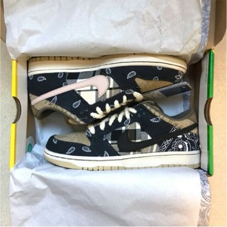 ナイキ(NIKE)のNIKE SB DUNK LOW PRM QS X TRAVIS SCOTT(スニーカー)
