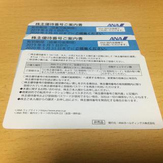 ANA(全日本空輸) - 全日空株主優待券 ANA 3枚