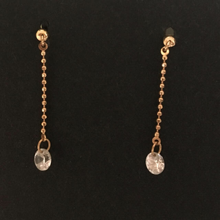 JEWELRY TSUTSUMI - ツツミ K18 ピンクゴールドピアス