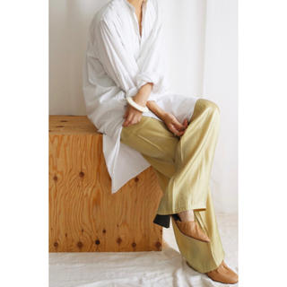 TODAYFUL - aere(アエレ) / satin pantsサテンパンツ