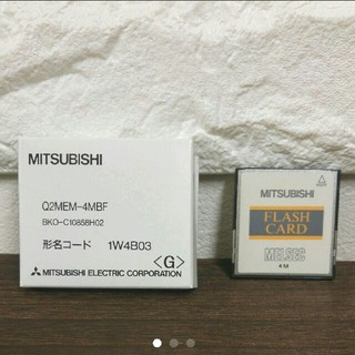 ミツビシ(三菱)のMITSUBISHI⭐Flashカード Q2MEM-4MBF⭐新品(その他)