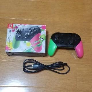 任天堂 - Switch Proコントローラー スプラトゥーン2エディション
