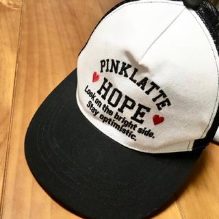 ピンクラテ(PINK-latte)のキャップ(帽子)