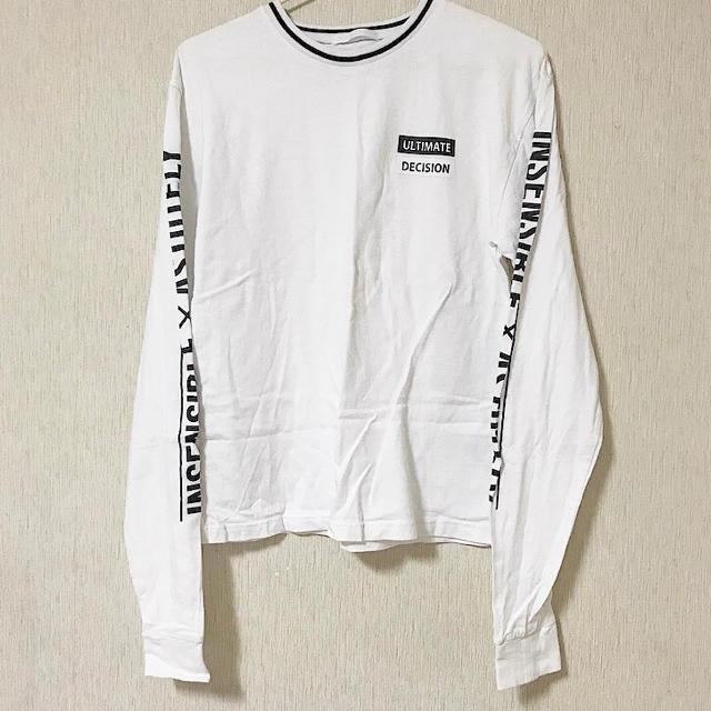 袖ロゴ  ロンT レディースのトップス(Tシャツ(長袖/七分))の商品写真