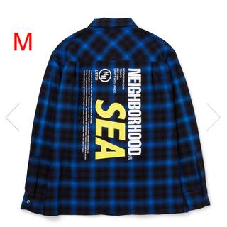 NEIGHBORHOOD - NEIGHBORHOOD WIND AND SEA チェックシャツ ネルシャツ
