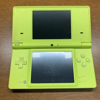 ニンテンドーDS(ニンテンドーDS)のNintendo 任天堂 DSi ライムグリーン 充電器付き(携帯用ゲーム機本体)