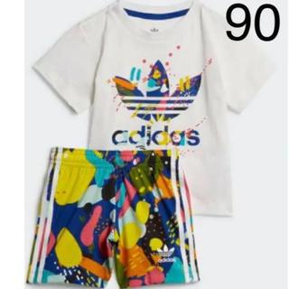 adidas - お値下げ!新品!アディダスキッズ★半袖セットアップ