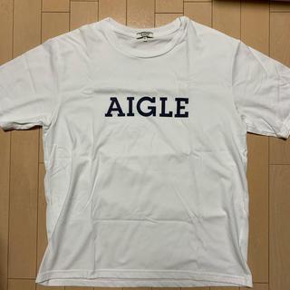 AIGLE - AIGLE ロゴ Tシャツ エーグル