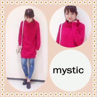 ミスティック(mystic)のmystic オフタートルワンピース(ひざ丈ワンピース)